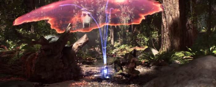 Star Wars Battlefront Trailer Shield