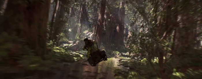 Star Wars Battlefront Trailer Speeder POV