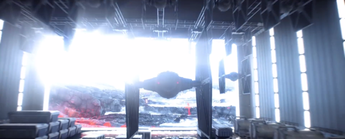 Star Wars Battlefront Trailer Tie Fighter Blasts Off