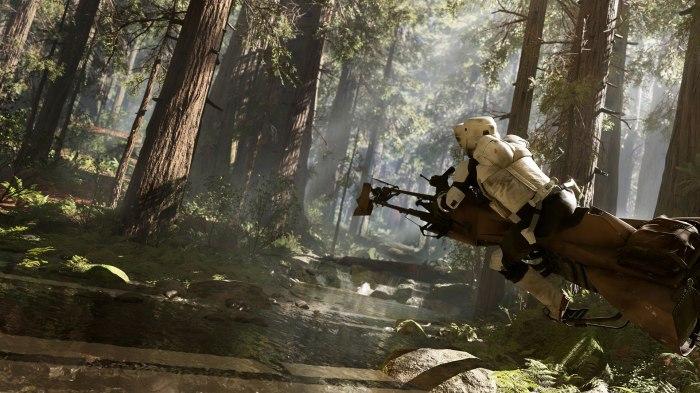 Star Wars: Battlefront Trailer Trooper Speeder