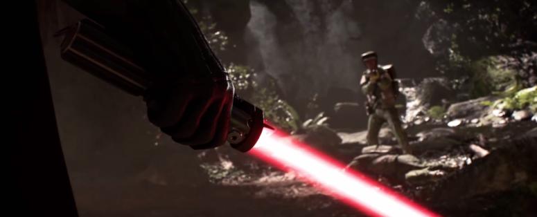 Star Wars Battlefront Trailer Vader Lighsaber