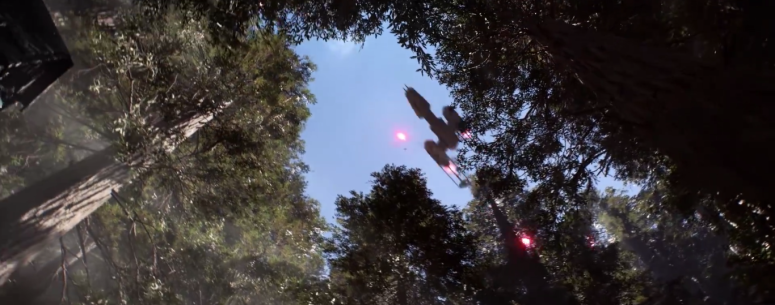 Star Wars Battlefront Trailer Y-Wing Bombing