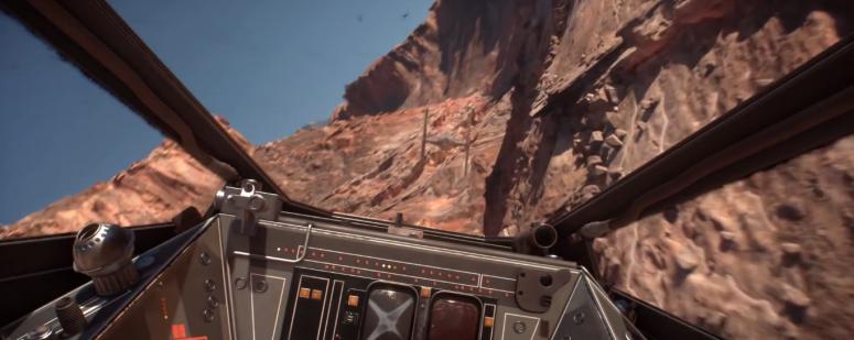 Star Wars Battlefront X-Wing Cockpit