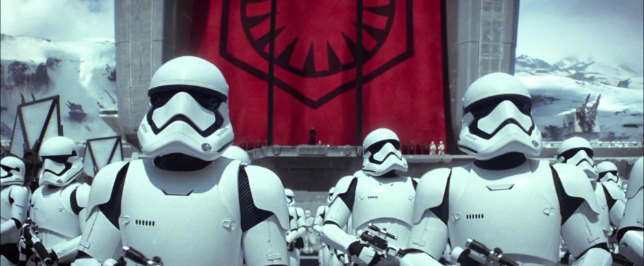 Star Wars: The Force Awakens Trailer 2 Storm Trooper Army
