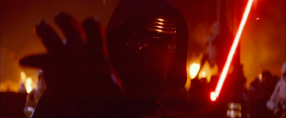 Star Wars: The Force Awakens Trailer 2 Kylo Ren