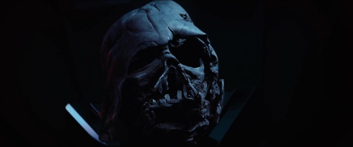 Star Wars: The Force Awakens Trailer 2 Vader Helmet