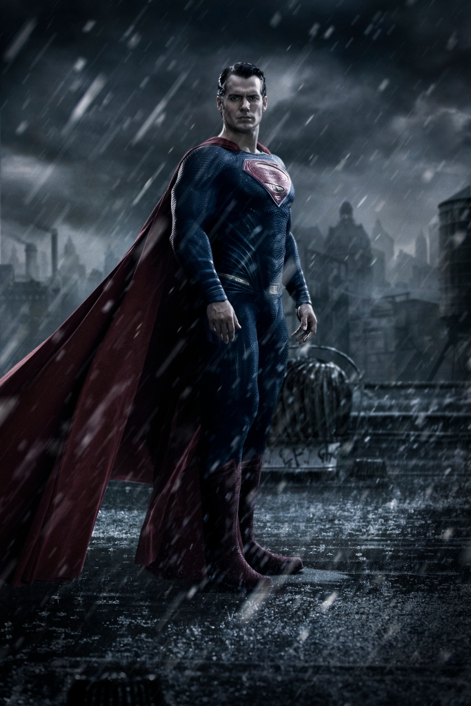 Superman Henry Cavill in Batman Vs Superman Dawn of Justice