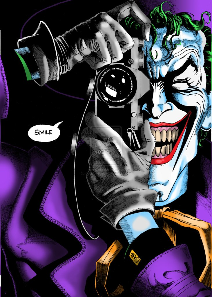 'The Killing Joke' Cover Joker Camera