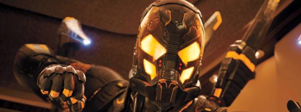 Yellowjacket from Marvel's Ant-Man
