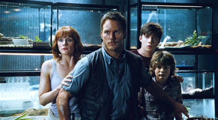 Owen Grady & Claire & Kids