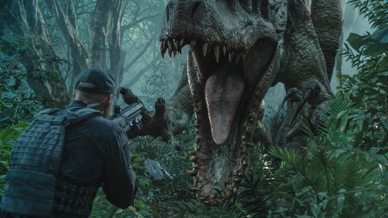 Jurassic World Review Indominus Rex Eats Security