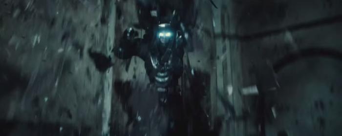 Batman V Superman Dawn of Justice Armor Falls