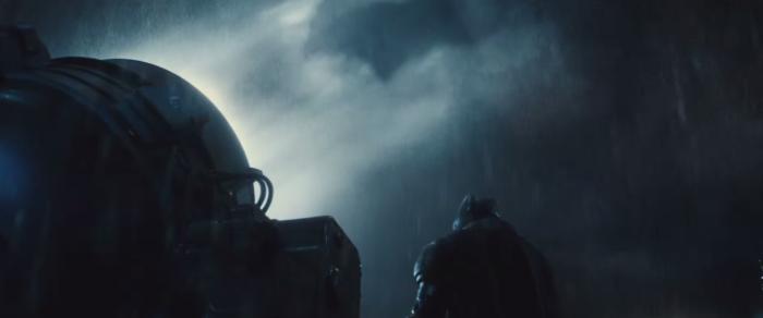 Batman V Superman Dawn of Justice Bat Signal In The Sky