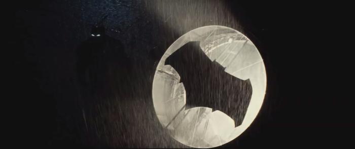 Batman V Superman Dawn of Justice Batman Bat Signal and glowing Eyesg