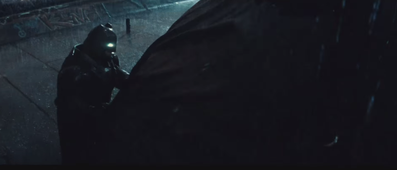 Batman V Superman Dawn of Justice Batman Bat Signal Uncover