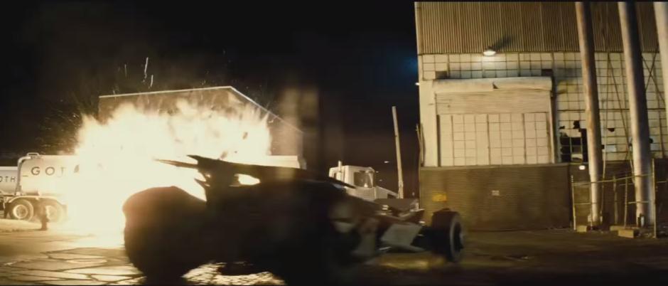 Batman V Superman Dawn of Justice Batmobile