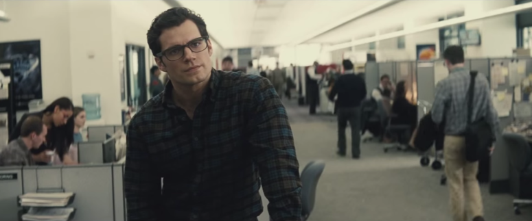 Batman Pearching with Rifle from Batman V Superman Dawn of Justice Clark Kent at Daily Planet