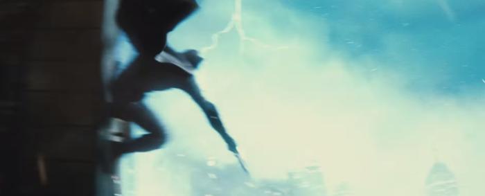 Batman V Superman Dawn of Justice dark knight returns lightning