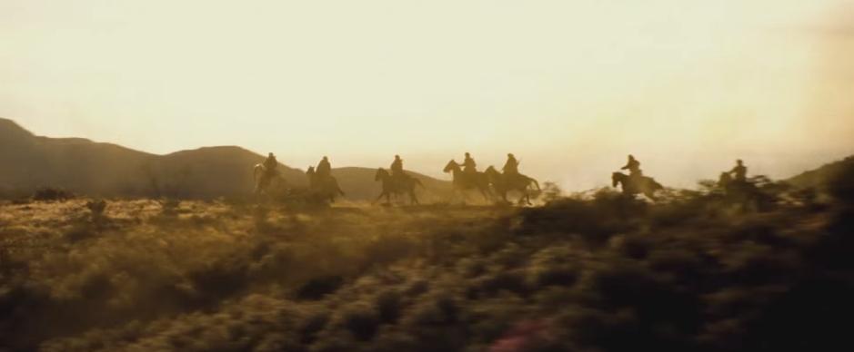 Batman V Superman Dawn of Justice Horses