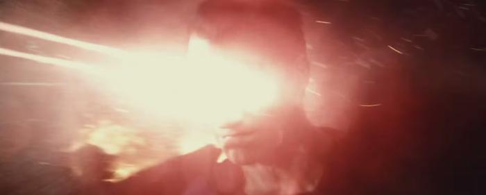 Batman V Superman Dawn of Justice laser vision