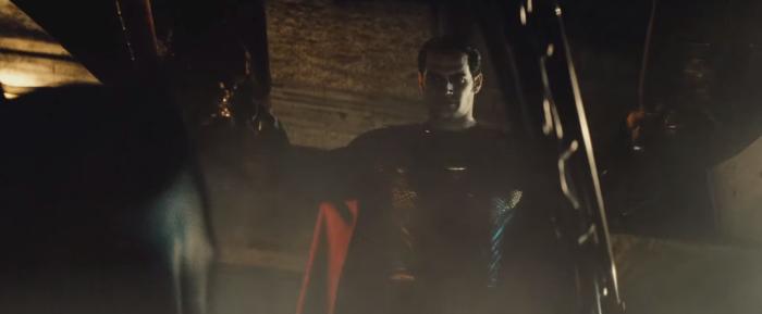 Batman V Superman Dawn of Justice opeing batmobile