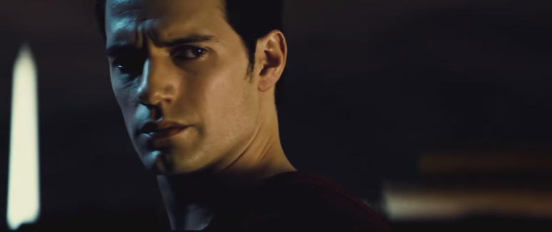 Batman Pearching with Rifle from Batman V Superman Dawn of Justice serious superman