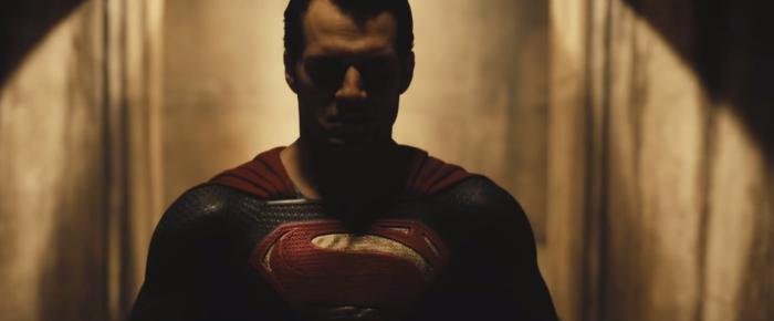 Batman V Superman Dawn of Justice Superman Angry Hallway