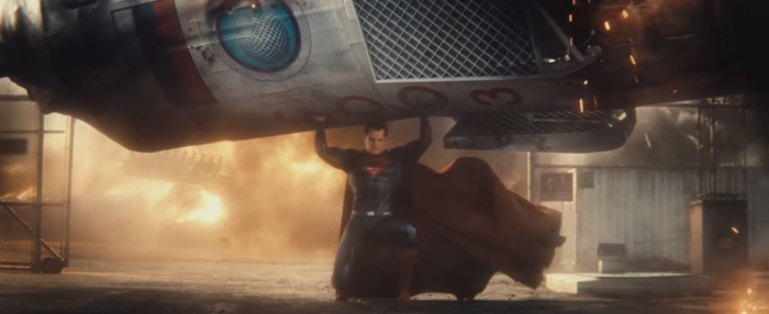 Batman Pearching with Rifle from Batman V Superman Dawn of Justice Superman Saves Rocket