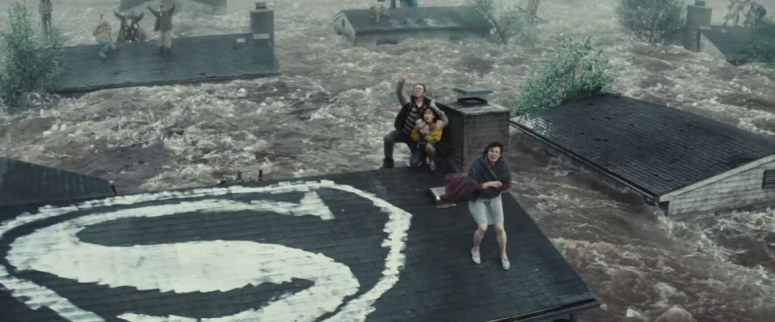 Batman Pearching with Rifle from Batman V Superman Dawn of Justice Superman Symbol House Flood