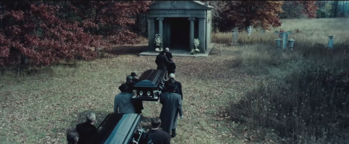 Batman V Superman Dawn of Justice Wayne Funeral