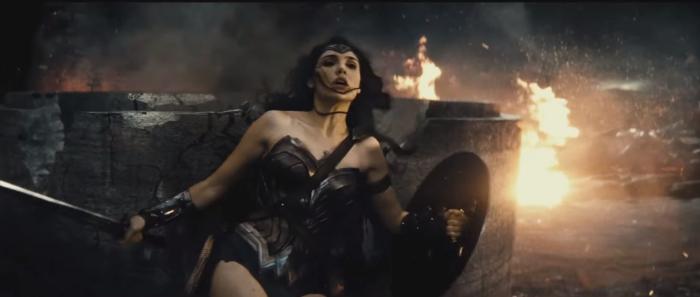 Batman V Superman Dawn of Justice Wonder Woman Hit