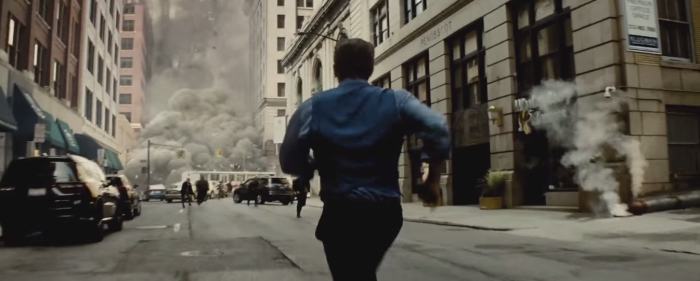 Batman V Superman Dawn of Justice Comic-Con Trailer Bruce Wayne Runs Toward Danger