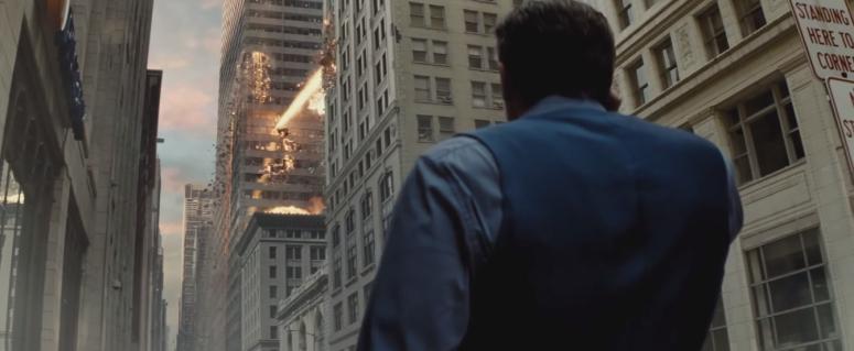 Batman V Superman Dawn of Justice Comic-Con Trailer Bruce Wayne Watches