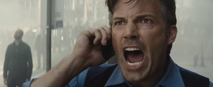 Batman V Superman Dawn of Justice Comic-Con Trailer Bruce Wayne Yell