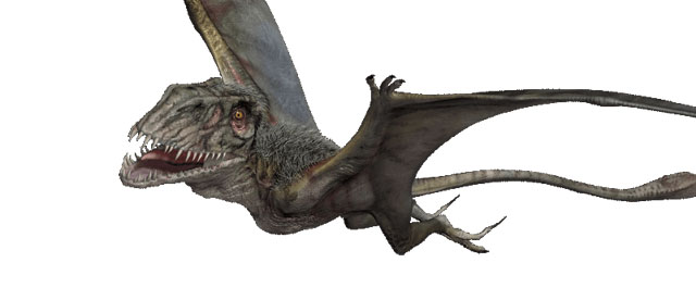 "One Site Says ""Dimorphodon?"" Director promises NOT a Hybrid!"