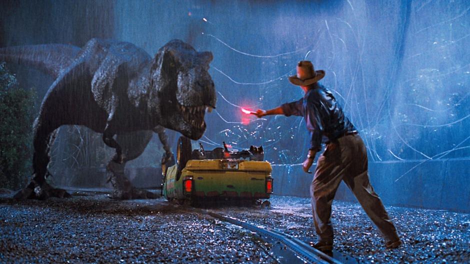Jurassic World T-Rex Alan Grant