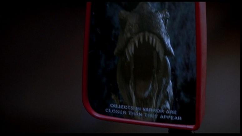 Jurassic Park T Rex Mirror