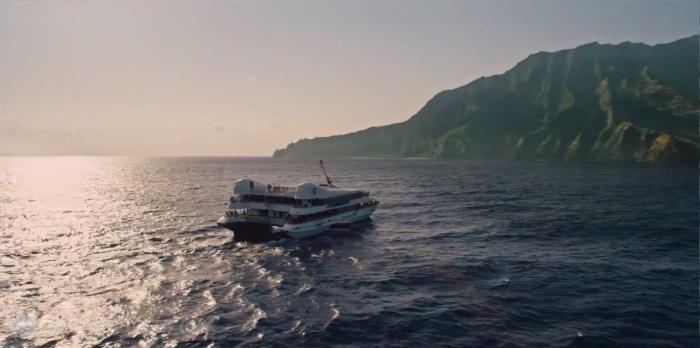 Jurassic World Ferry to Isla Nublar