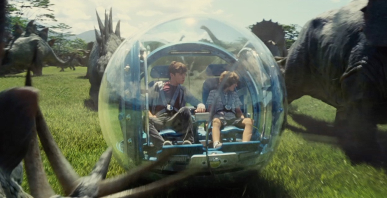 Jurassic World Gyrosphere