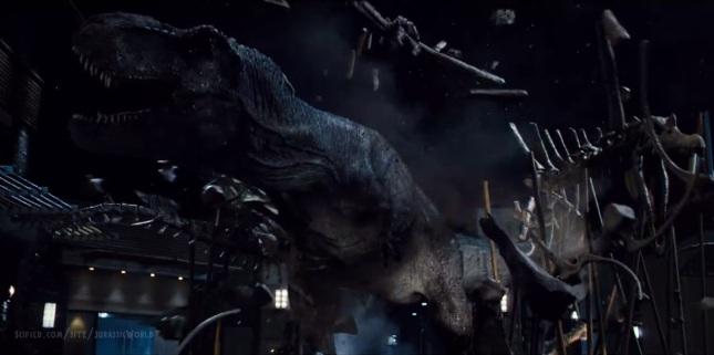 Image result for T-rex breaks spinosaurus skeleton