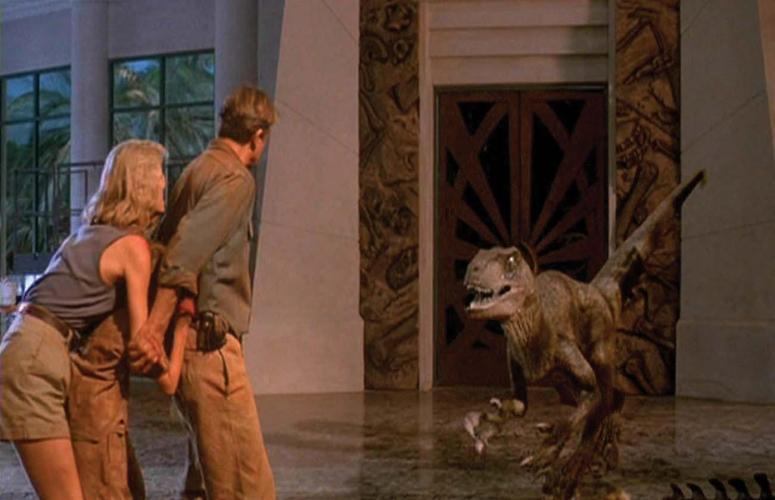 raptor attack jurassic park