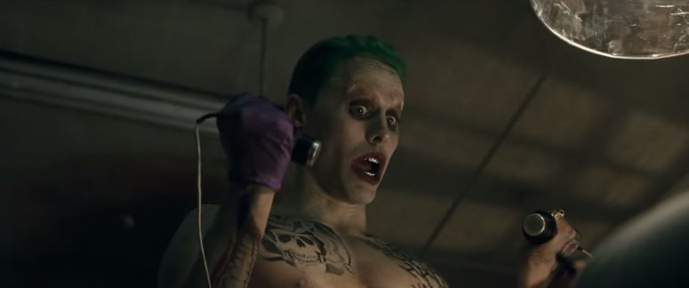 Suicide Squad Comic-Con Trailer Jared Leto Joker 2