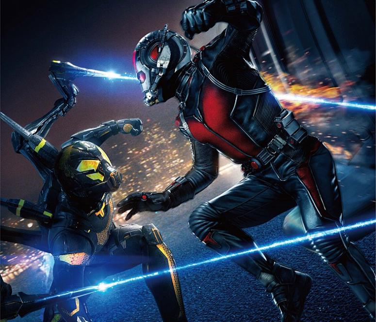Ant-Man Vs Yellowjacket Chinese Poster