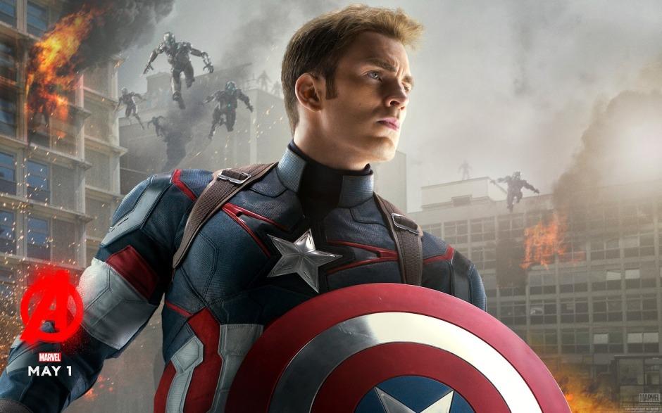 Captain America Avengers Age of Ultron Chris Evans
