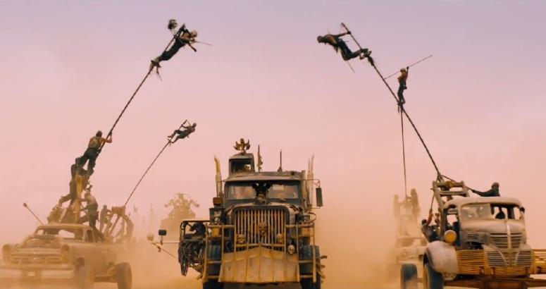 Mad Max Sticks Attack The Rig