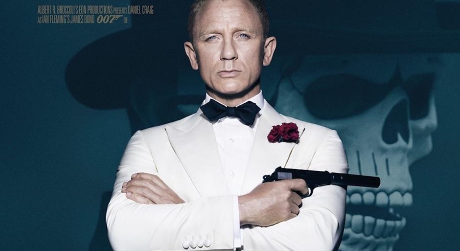 SPECTRE Daniel Craig Poster 007