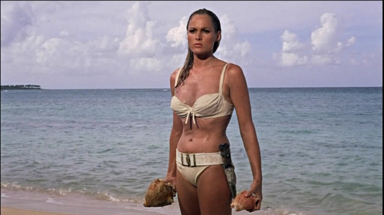 dr no james bond ursula andress honey Honey Ryder