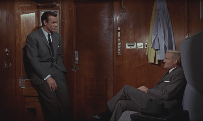 From Russia With Love James Bond 007 Sean Connery Robert Shaw Grant