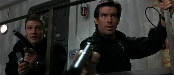 Goldeneye 007 James Bond Pierce Brosnan Sean Bean 006 Alec Trevelyan
