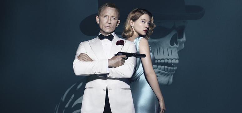 SPECTRE 007 James Bond Poster Daniel Craig Léa Seydoux Madeleine Swann